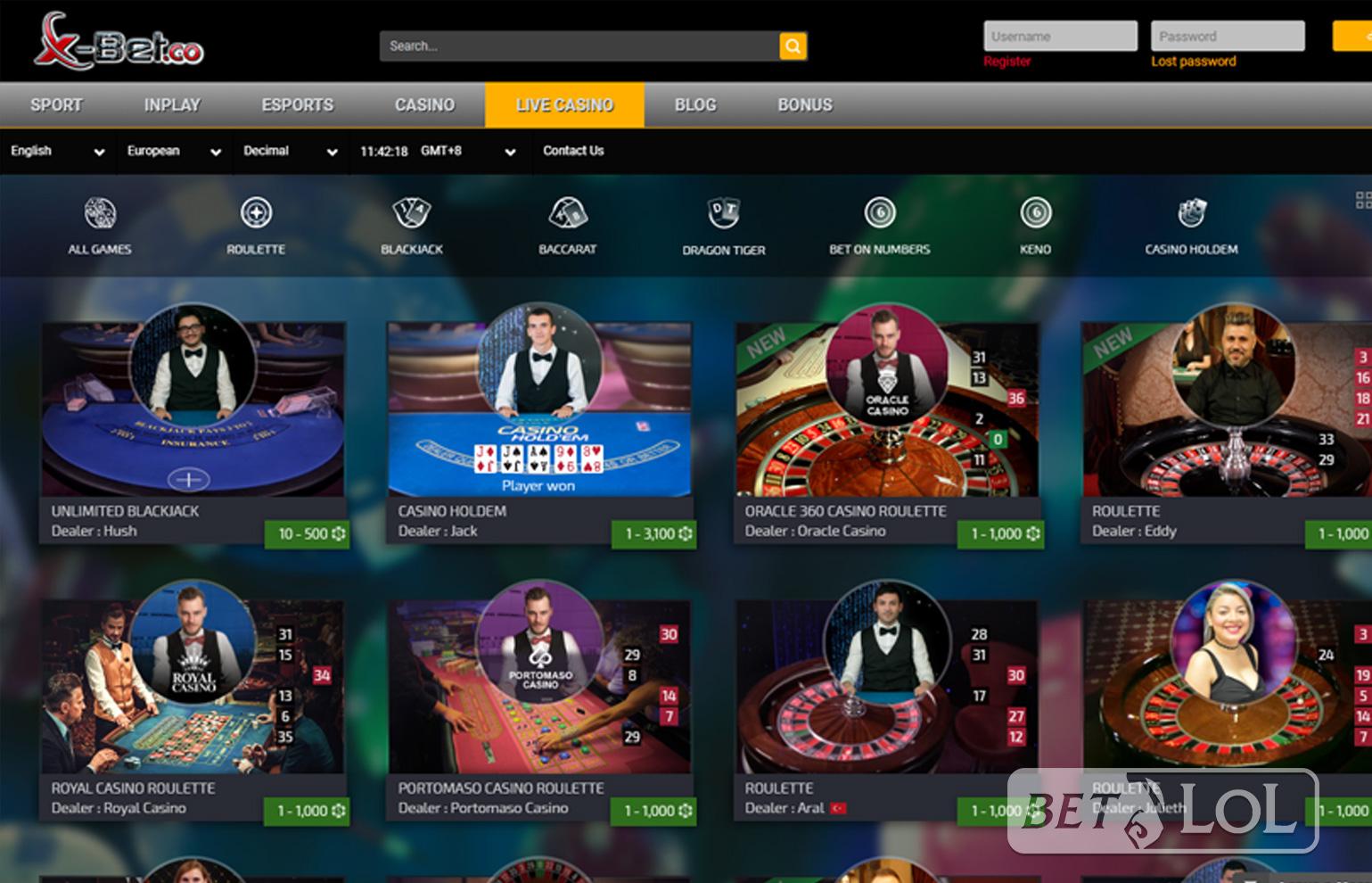 официальный сайт обзор казино x bet co